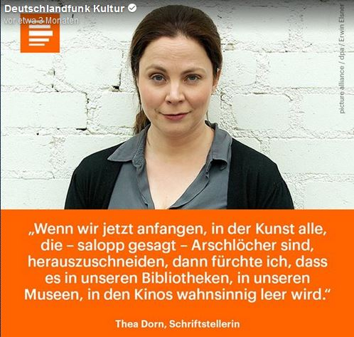 Dorn-Th-Kunst-Arschlö-her-leer