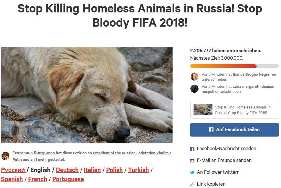 Russland-WM_Hunde-abschlach_Petition