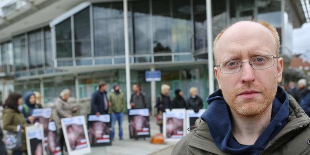 Tierschützer protestieren gegen Missstände in der Schweinemast