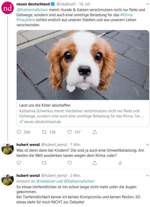 Katharina Schwirkus Hunde