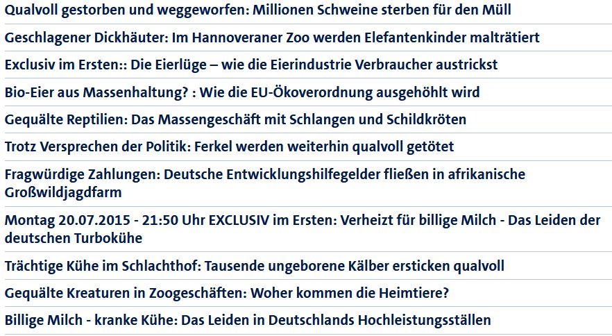 SWR-Tierschu-Verstösse-Liste